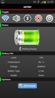 Screenshot of Battery Widget Viewer Free