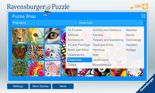 Ravensburger Puzzle - screenshot