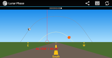 Screenshot of Lunar Phase