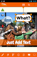 Screenshot of Just Add Text (to photos/pics)
