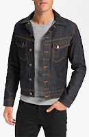Nudie Jeans Organic Dry Denim Jacket