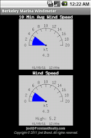 Screenshot of Berkeley Marina Windmeter