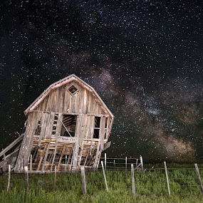 Long Night on the Prairie by Jim Harmer - Landscapes Prairies, Meadows & Fields (  )