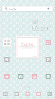 Screenshot of DailyNote dodol launcher theme