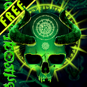 Mystical Skull Free Wallpaper icon