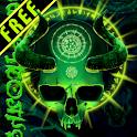 Mystical Schädel Freie icon