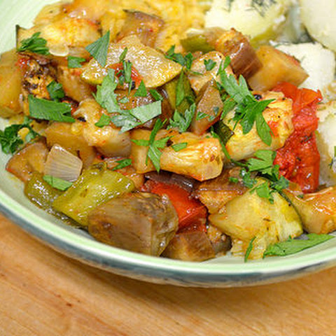 Middle Eastern Ratatouille