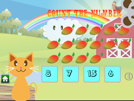 Screenshot of QCat - Toddler's game: Fruit