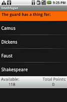 Screenshot of Deathfugue: Shmoop Guide