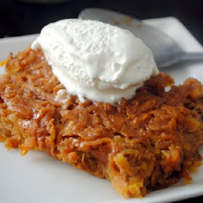 Haitian Sweet Potato Pudding Cake