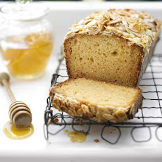 Honey Cake With Honeyed Almond Crunch