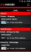 Screenshot of Top Mercato : actu foot