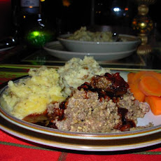 Burns Night Baked Highland Haggis With Whisky Cumberland Sauce