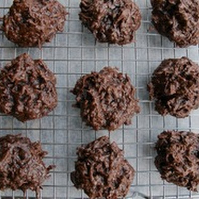 Double Chocolate Coconut Macaroons