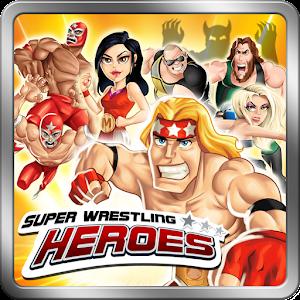 Cover art Super Wrestling Heroes