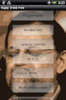 Screenshot of Rajoy Droid Free