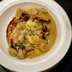 Spicy Rock Shrimp & Grits Recipe