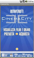 Screenshot of Webtic CinemaCity Ravenna