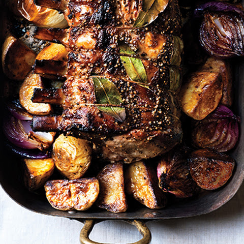 Pork Brined In Rum And Cider With Apples Recipes — Dishmaps