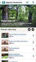 Screenshot of Upptäck Stockholm