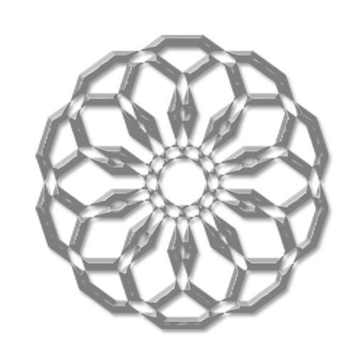 幾何学のアナログ時計 生活 App LOGO-APP試玩