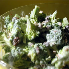 Broccoli Grape Spring Salad