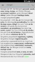 Screenshot of Słownik niemiecko-polski