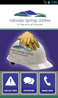 Screenshot of Colorado Springs Utilities