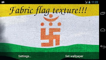 Screenshot of Jainism Flag Live Wallpaper