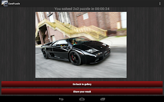 Screenshot of Cars Jigsaw Puzzles Free