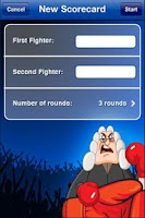 Screenshot of Boxing Scorecard