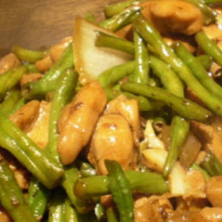 Chinese Long Beans With Chicken