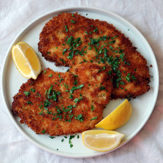 Chicken Schnitzel Herb Lemon Recipes