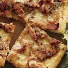 Kielbasa-and-Onion Pizza