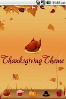 Screenshot of Thanksgiving Theme