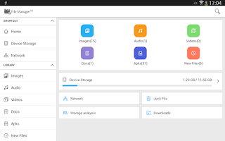 Screenshot of File Manager HD (Explorer)