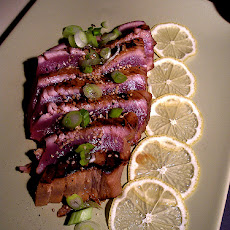 Seared and Sliced Ahi Tuna