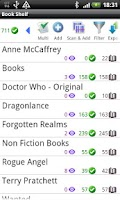 Screenshot of Book Shelf