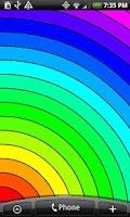 Screenshot of Rainbow Live Wallpaper