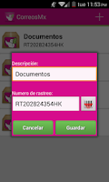 Screenshot of Correos de México
