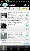 Screenshot of Tchat pour Geek : GeekLive