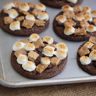 Chocolate S'more Cookies