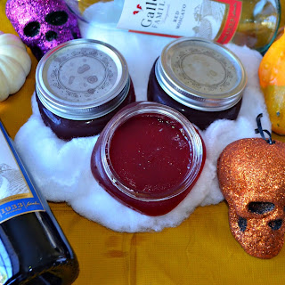 Dracula Wine Jelly #SundaySupper