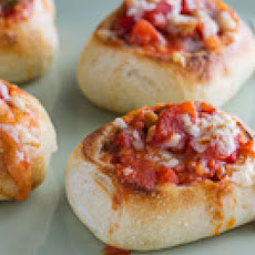 Mini Garlic and Mozzarella Bread Bowls