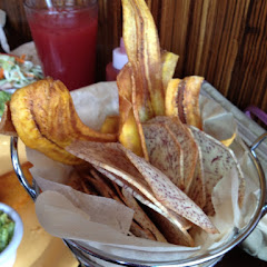 Plantain & taro chips