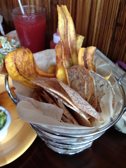 Plantain & taro chips