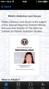 Ritalin Addiction & Abuse - screenshot