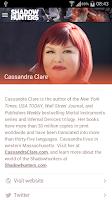 Screenshot of Cassandra Clare: Shadowhunters