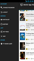 Screenshot of Movie App HD