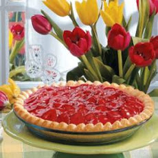 Strawberry Satin Pie